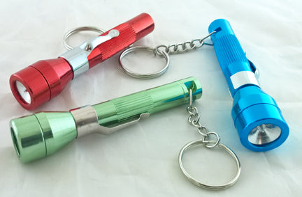 FLASHLITE KEY CHAIN PIPE.
