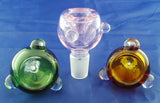 14mil ECONOMICAL CLEAR OR COLORED GLASS ON GLASS BOWL. GGB-1A