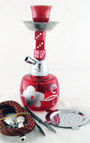 "ECONOMICAL PERSONAL 7"" MINI HOOKAH. MIXED COLORS. HK-003-B2"