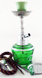 "ECONOMICAL PERSONAL 7"" MINI HOOKAH. MIXED COLORS. HK-014-B3"