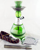 "ECONOMICAL PERSONAL 6"" MINI HOOKAH. ELEPHANT DESIGN. HK-062-B8"