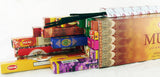 "RANDOM MIXED CARTON OF 12"" INCENSE STICKS. GREAT DEAL. INC-MX2"
