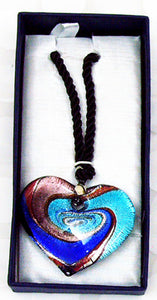BEAUTIFUL HAND MADE DICHROIC GLASS PENDANTS. JWL-1