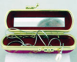 "UNIQUE 4"" SILK AND HARD SHELL JEWELRY/LIPSTICK CASE. JWLBX-2"