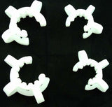 "PAIR OF PLASTIC K-CLIPS FOR HOLDING GLASS ACCESSORIES.  ""Quantity Discount Available"" KCLIPS"