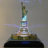 DIY 3D EMPIRE STATE BUILDING PUZZLE. LED LIGHT UP. L505H