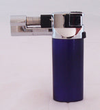 HAND HELD TORCH FLAME BUTANE LIGHTER.  COLOR OPTIONS. LT-1
