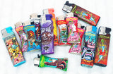 MIX OF 5 REFILLABLE ED HARDY BUTANE LIGHTER. LTR-EH-1