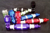 "4"" ANODISED ALUMINUM METAL CHAMBER PIPE. VARIOUS COLORS.  MP-40"