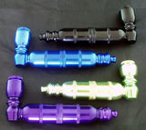 "4"" ANODISED ALUMINUM METAL CHAMBER PIPE. VARIOUS COLORS.  MP-41"