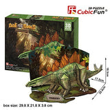 DIY 3D STEGOSAURUS PUZZLE. FUN FOR ALL AGES.  P670H