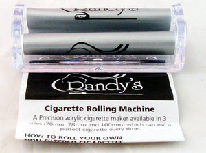 RANDY'S ROLLING MACHINE. 70mm. WITH FREE BOOKLET OF PAPERS. PAPRL-4AS