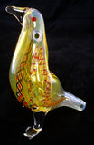 "BEAUTIFUL 4.5"" GLASS PIGEON SMOKING PIPE. GAP-PGN-1"