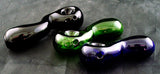 "3"" COLORED GLASS ""TADPOLE"" PIPE. ""Quantity Discount Available"" PV-1"