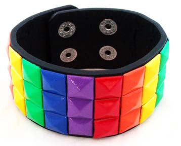 DECORATED RAINBOW WRIST BRACELET. RNBW-BR2