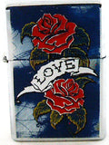 LOVE DESIGN WINDPROOF OIL LIGHTER. MIXED DESIGNS. WLTR-LUV