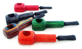 "2.5"" TOP QUALITY WOOD PIPE WITH MOUTHPIECE. VARIOUS DESIGNS. ""Quantity Discount Available"" WP-12"