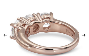 Montana Silversmiths Sterling Lane Infinity Rose Ring