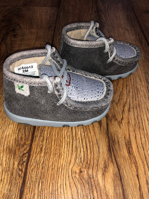Twisted X Grey Infant Casual Shoe (0012)