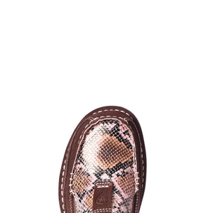 Ariat® Ladies Snake Print and Coffee Bean Cruiser Shoe 10035829