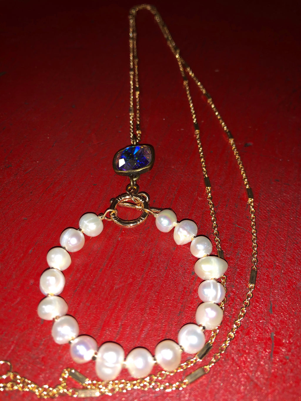 Pink Panache Pearl Delight Necklace
