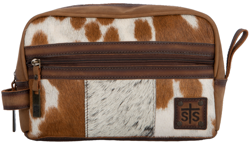 STS Cowhide Shave Bag (6291)