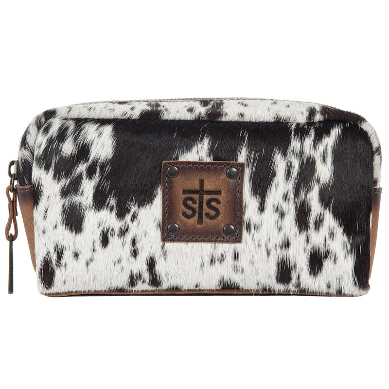 STS Cowhide Bebe Cosmetic Bag (2733)