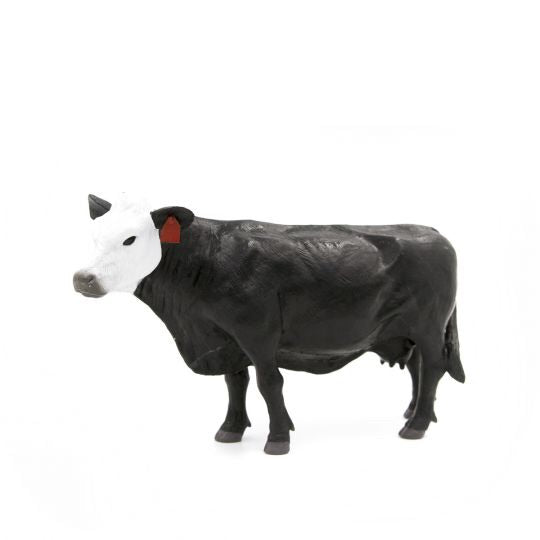 Little Buster Black/ White Face Cow Toy