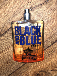 PBR Black and Blue Flame Colone