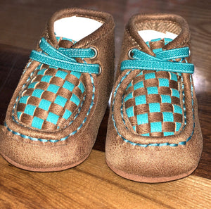 Cassidy Brown/Blue Moc (1102)