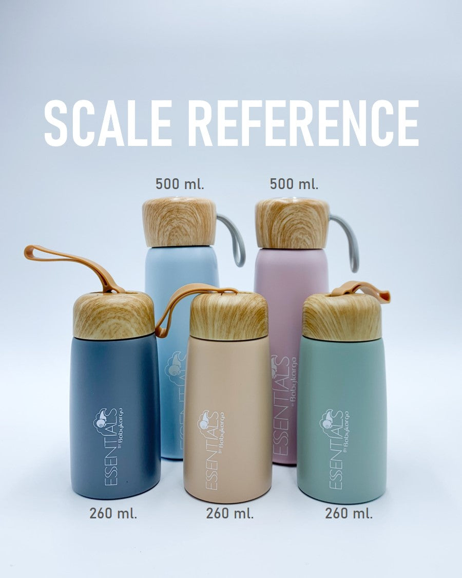260ml. Insulated water bottle. PERFECT SIZE FOR KIDS!