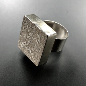Rectangular Rays of Light ring #1.  Size 7