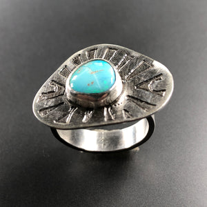 Opal ring.  Size 7