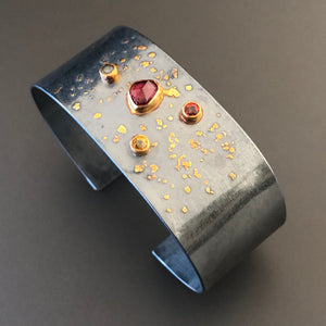 Gemstones cuff