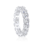 'Satine' Round Cut Eternity Ring