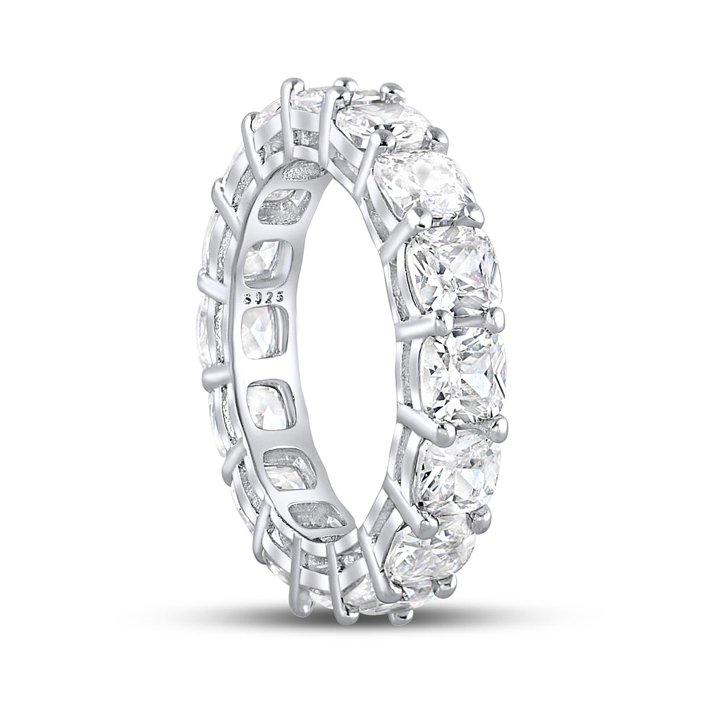'Mireya' Cushion Cut Eternity Ring