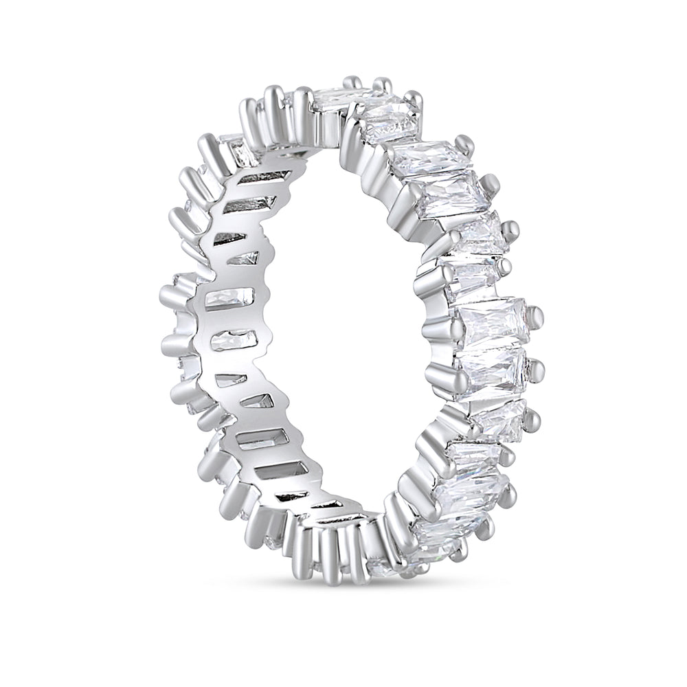 'Leona' Baguette Eternity Ring