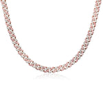 'Nera' Crystal Cuban Link Necklace