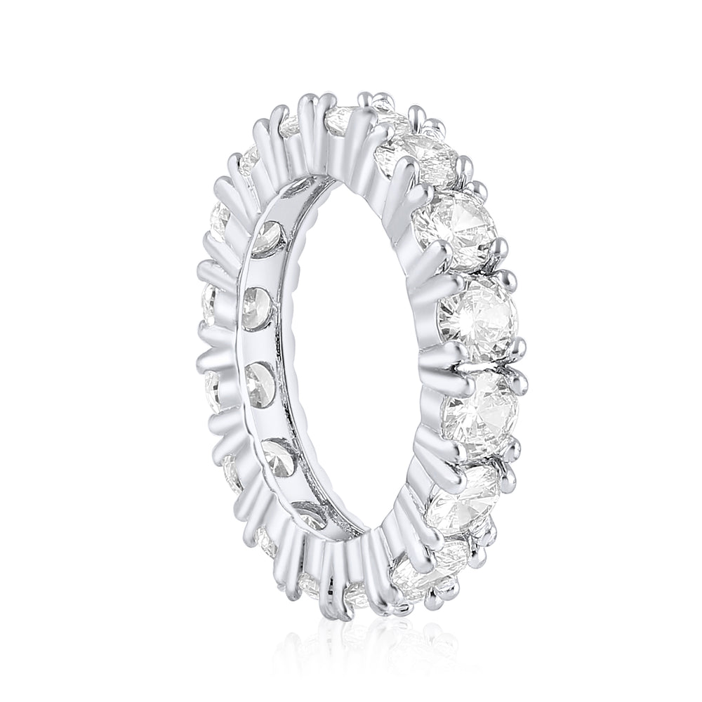 'Meira' Round Cut Eternity Ring