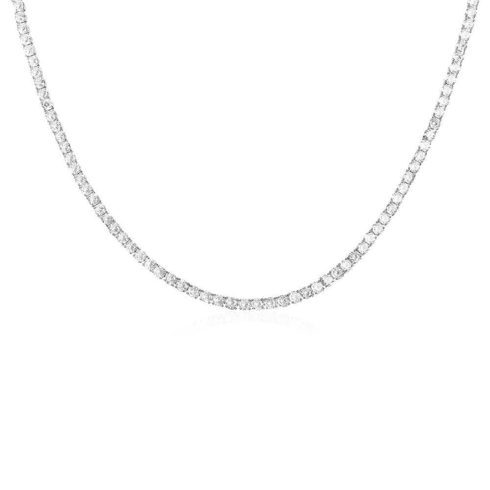 'Elana' Crystal Eternity Necklace