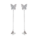 'Mariposa' Butterfly Dangle Earrings