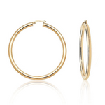 'Valentina' Classic Thick Hoops - 50mm