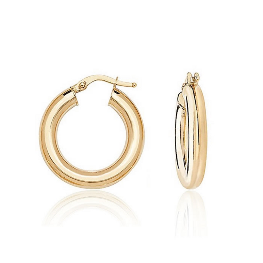 'Clara' Classic Thick Hoops - 20mm