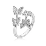 'Celyna' Open Butterfly Ring