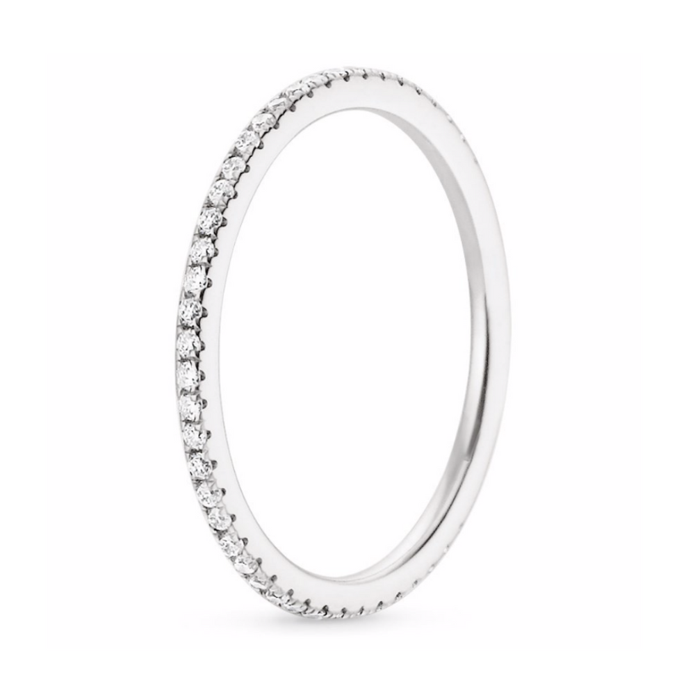 'Imara' Micro Crystal Eternity Ring