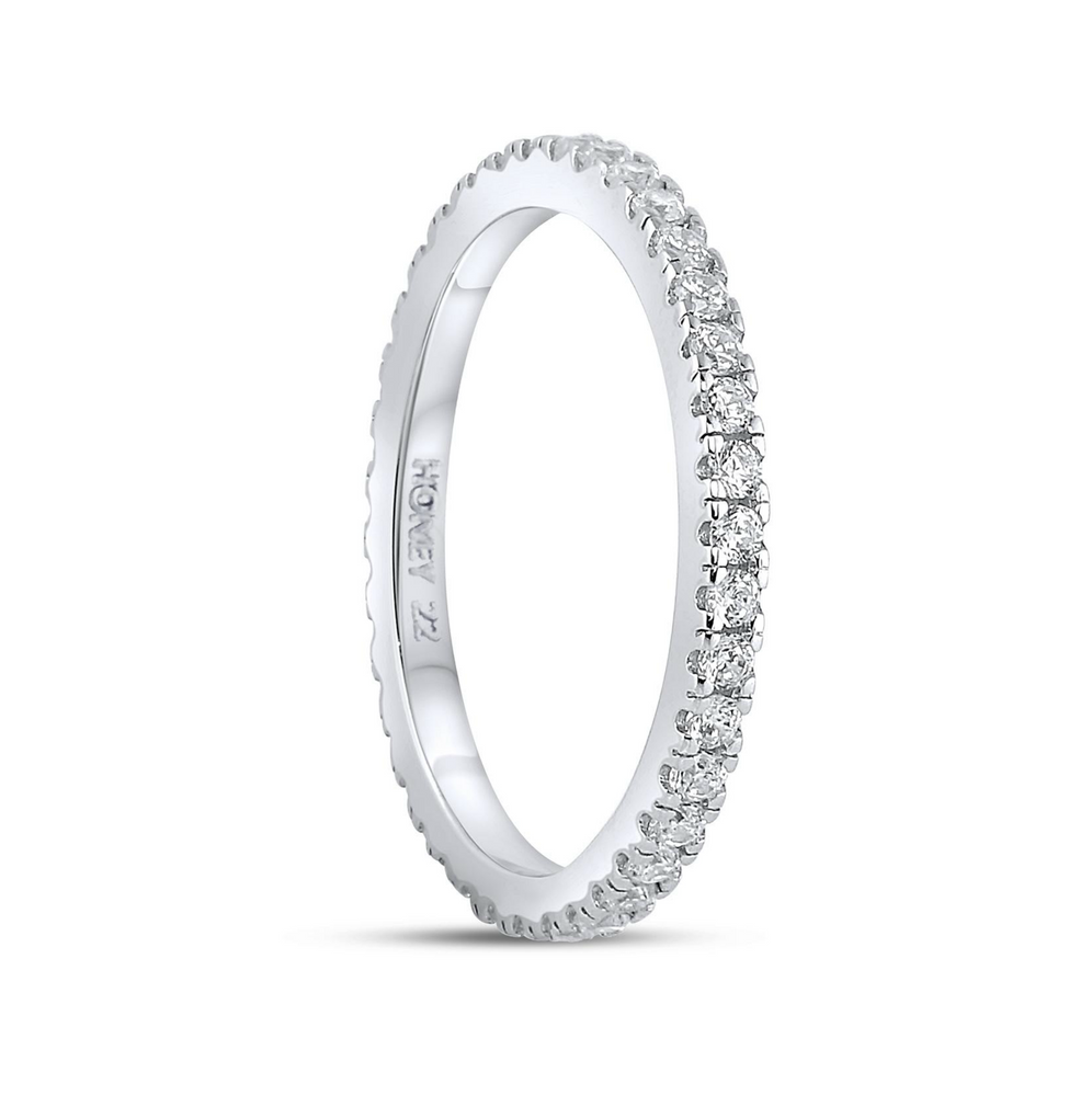 'Nicole' Micro Crystal Eternity Ring