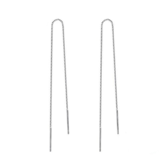 'Sara' Chain Dangle Earrings