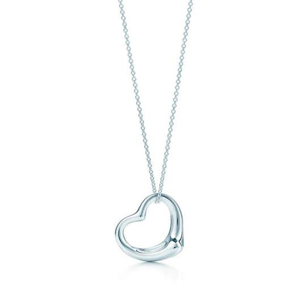 'Ava' Open Heart Necklace