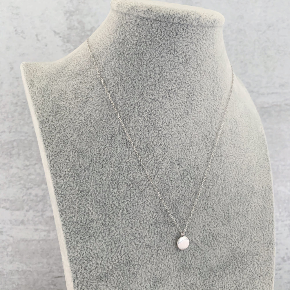 'Savannah' Classic Tab Necklace