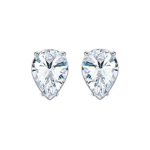 'Taina' Pear-Cut Crystal Earrings